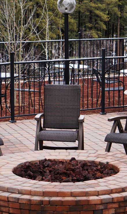Gazal Landscaping Services, Inc. Outdoor Fire Pits